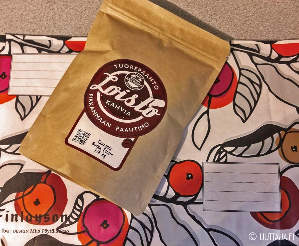Hampuriin lähti 250g Pirkanmaan Paahtimon Tanzania Burka Estate -kahvia